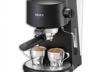Португальская кофеварка KRUPS. 2 чашки