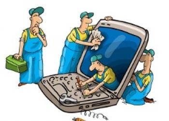 Ремонт ноутбуков, компьютеров всех марок и любой сложности