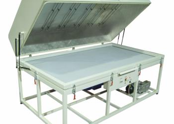 Пресс для формования и спекания препрега VP DHP 2514 с верхним нагревом