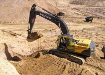 Купить песок сеяный, карьерный в Петрозаводске, песок строительный в Карелии