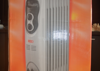 Новый масляный радиатор SHEFF WL-9