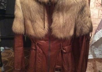 Куртка Laplandia 100 натур. кожа + мех енота