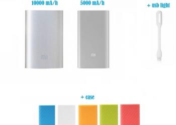 Внешний аккумулятор Xiaomi Power Bank. Оригинал