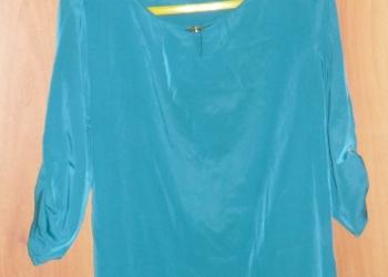 Блузка голубая