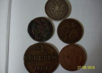 Старинные монеты из частной коллекции