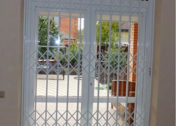 Раздвижные решетки для дома, офиса, магазина