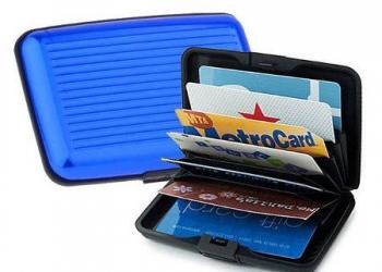 Кошелек Aluma Wallet с защитой от считывания