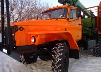 лесовозный тягач на шасси Урал 4320