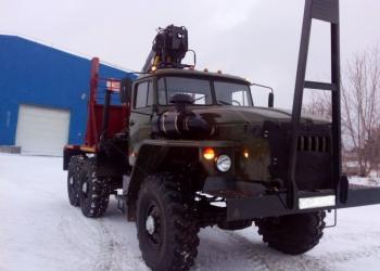 шасси на базе Урал 4320  лесовозный