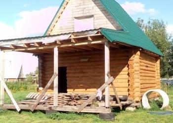 Прдам участок с недостроенным домом в Ярославской области