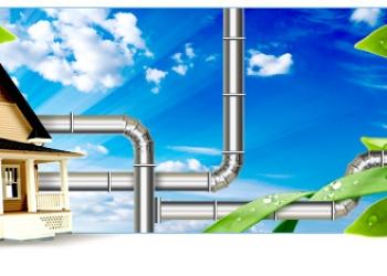 Монтаж систем вентиляции и дымоходов в Москве и московской области