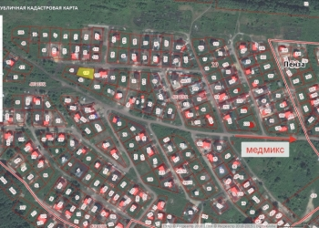 Продам земельный участок по ул Сиреневая