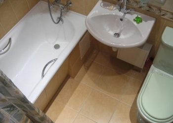 Установка раковин и ванн