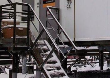 Лестницы ЛГВ 45-12.7 с решетчатыми ступенями