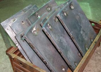 Пулестойкая броня 45Х2НМФБА сталь 96