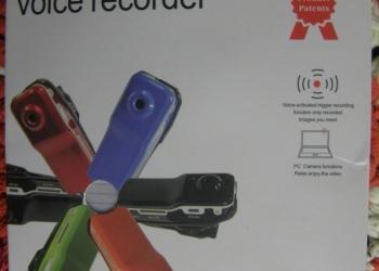 Мини видеокамера/диктофон