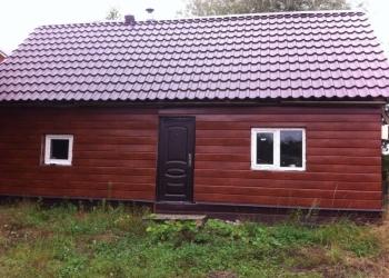 Продаю земельный участок с полноценной постройкой (баня), сделано основательно