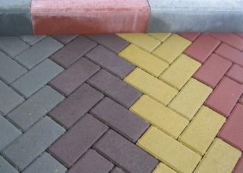 "Тротуарная плитка ""Брусчатка"""