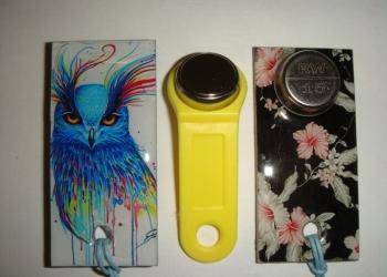 домофонные ключи-эпокси