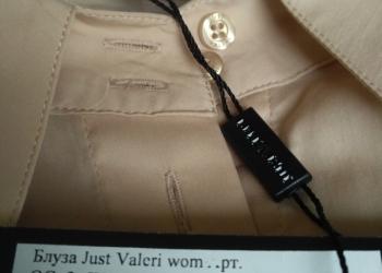 Блузка новая из комбинированного материала, размер 48