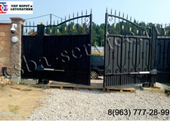 установка гаражных ворот в Балашихе и Московской области.