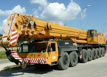 Услуги автокрана 300 тонн Liebherr