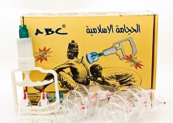 Набор для хиджамы ABC: 12 банок и аппарат