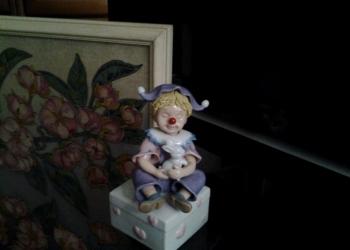 Статуэтка коллекционная Клоун музыкальная