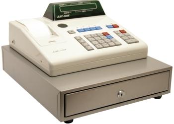 Продаю кассовый аппарат АМС-100 с денежным ящиком. 5000р.