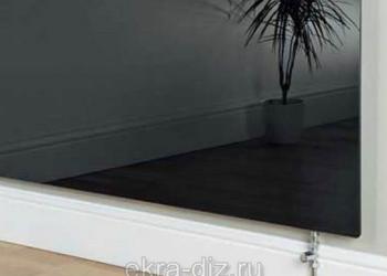 В продаже стеклянные экраны для батареи отопления