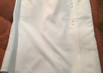 Белая юбка.