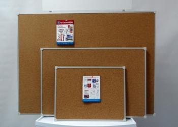 Пробковые доски с рамкой из алюминия и дерева  с доставкой в Татарстан