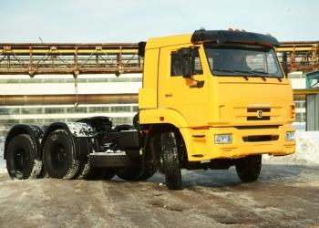 КАМАЗ-65116-6010-48 трехосный тягач новый