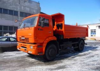 КАМАЗ-53605-6010-48(A5) самосвал новый 12 тонн