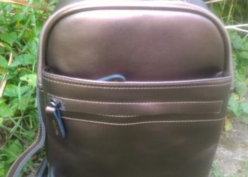 Отличный рюкзак трансформер, новый, бронзово-золотой, натуральная кожа.