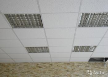 продам растровые светильники квадратные с лампами