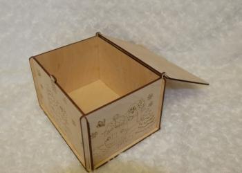 Посылка от Деда Мороза (коробка подарочная)