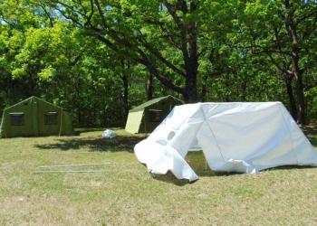 Палатка каркасная М-5 (вместимость 6 чел)