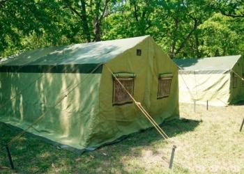 Палатка каркасная М-16 (вместимость 16 чел)