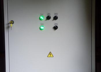 Шкаф управления температурой камеры сушки древесины