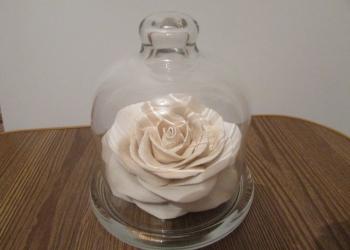 """Сувенир """"Роза под стеклом"""""""