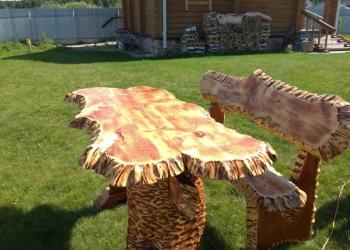 Мебель садовая массив сосны.авторский дизайн.