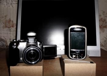 Canon PowerShot S3 IS + GPS коммуникатор + Монитор