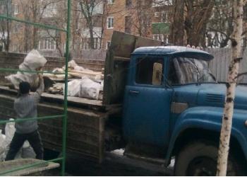Уборка и вывоз мусора.