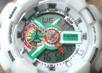 Наручные Casio G-Shock. 2 механизма! Подсветка!