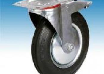 Колесо промышленное поворотное с тормозом