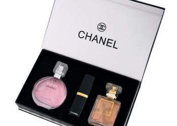 Подарочный набор Chanel 3 в 1