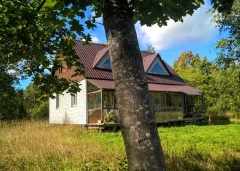 Блочный дом на хуторе, своя газ. ветка, 7 гектар земли
