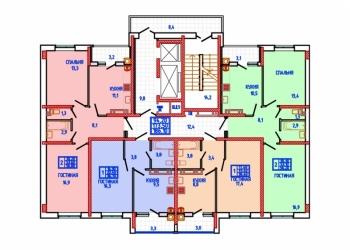 1-к квартира, 36 м2, 5/18 эт.