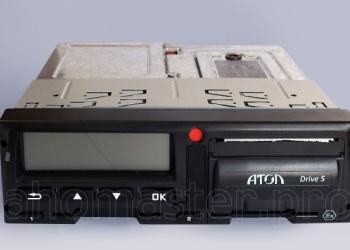 Цифровой тахограф Атол Drive 5 с блоком СКЗИ